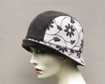 Cappello di fiorito cloche cappello b3bdc35315cb
