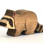 Raccoon Toy - Waldorf Toy - Handmade Wooden Toy