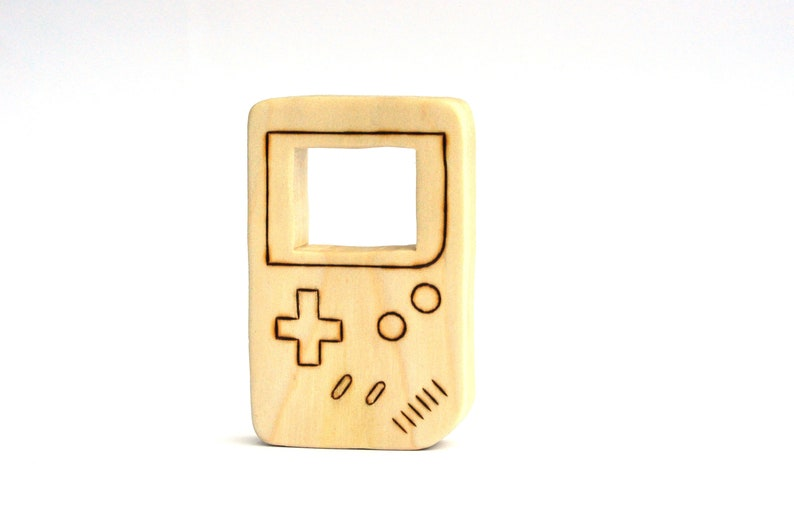 Nintendo Game Boy Toy  Teething Toy  Handmade Toy image 0