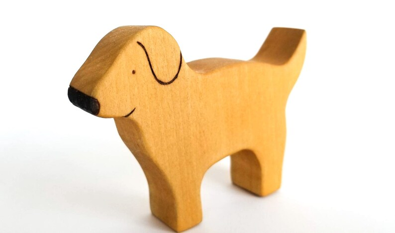 Dog  Handmade Wooden Toy  Natural Toy image 0