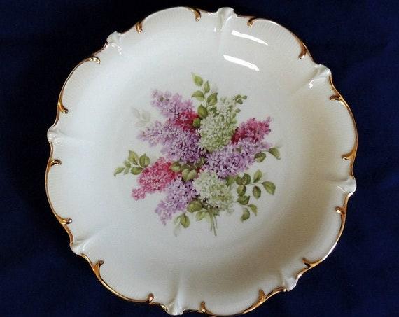"Vintage Large Schumann 12"" Plate Platter.. Lilac Time Pattern.. Arzberg, Germany"