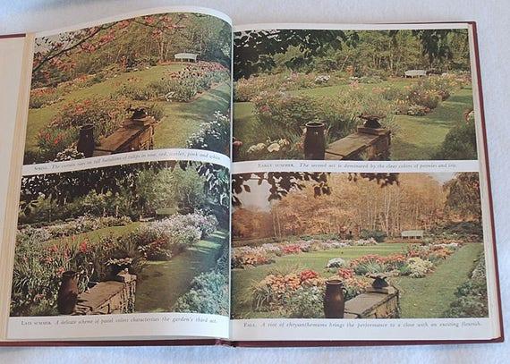 Vintage 1944 Hardcover Book GARDENS IN COLOR By Richard Pratt ..17 Color Illustrations