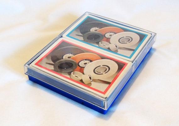 Vintage Advertising Playing Cards.. 2 Decks.. Pacific Grinding Wheels Everett WA