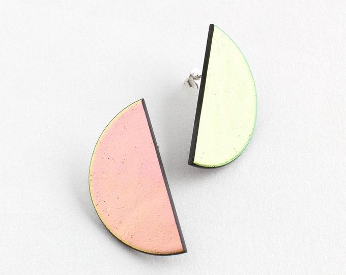 Pink Moon Earrings