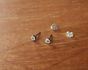 pacem stud earrings #3