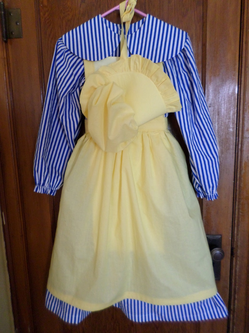 Sale Priced-3pc Prairie Dress Set Please read all sizing details. Girl/'s SZ 1416 OR Women/'s Small