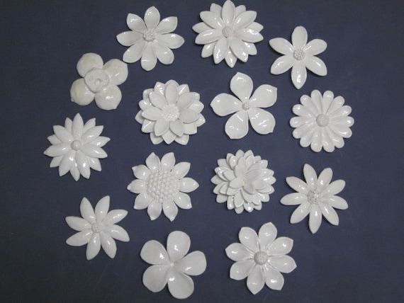 Ceramic flower wall art CUSTOM ORDER Wedding Gift wall | Etsy