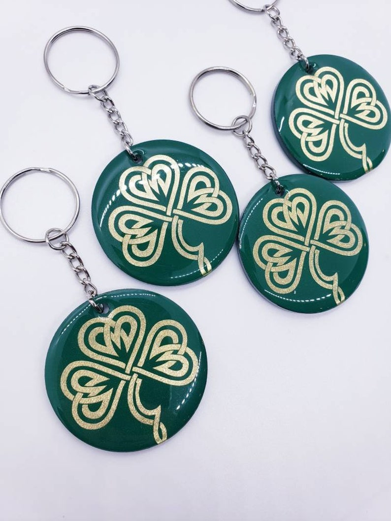 Celtic Acrylic Circular Keychain  Positivity On The Go Keychains  May The Road Rise Up To Meet You
