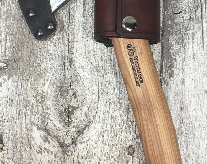 Hatchet, axe, hammer leather belt holder