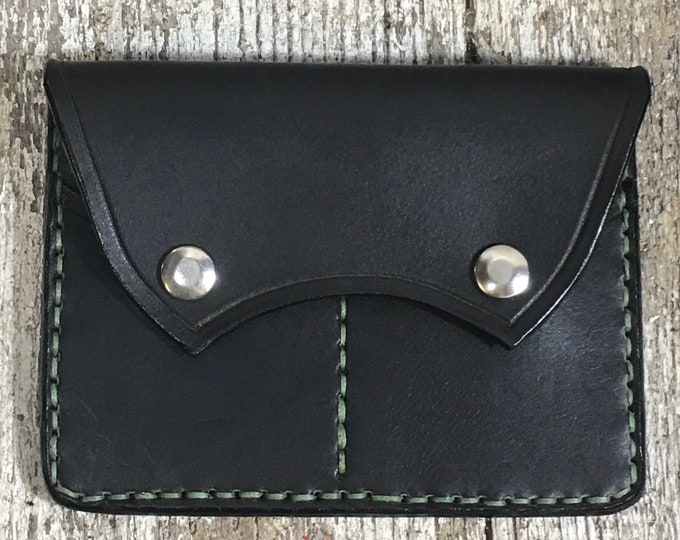 Large document wallet credit cards snap