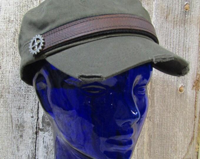Engineer cadet cap steampunk