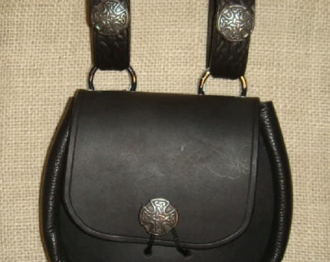 Celtic sporran belt pouch