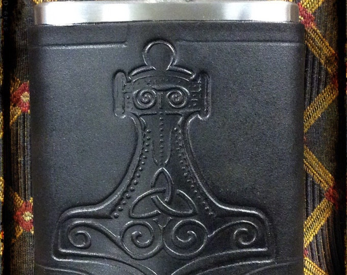 Thor's hammer 6 oz pocket flask
