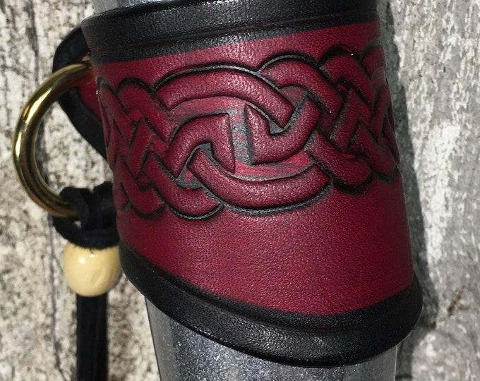 Embossed celtic shot horn