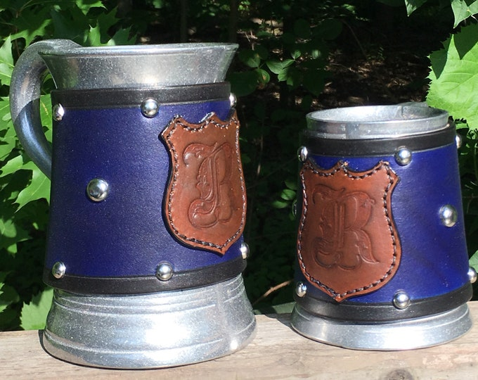 Wizard school House tankards Harry Potter Hogwarts Slytherin Gryffindor Ravenclaw Hufflepuff