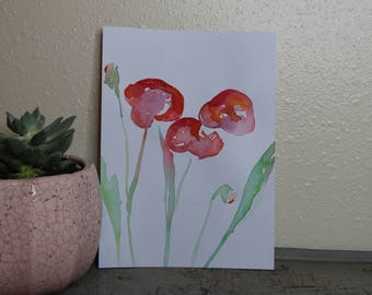 Blossom Watercolor Painting