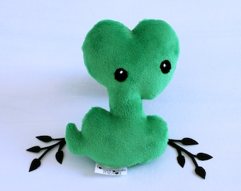 Snake Plushie. Serpent Softie, Cunning Snake Plush, Stuffed Snake Toy, Sly Snake, Boa Softie, Reptile Plush, Python Toy, Cute Green Snake