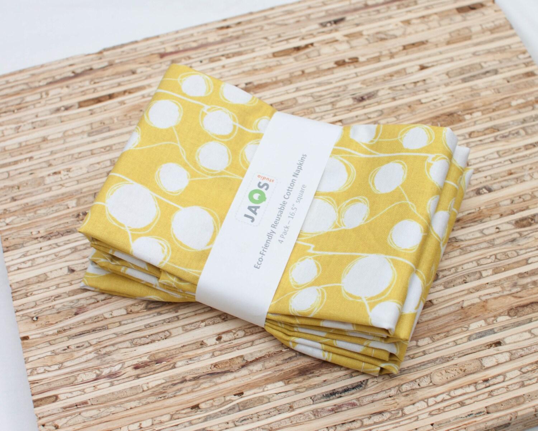 serviettes en tissu grand set de 4 serviettes de table etsy. Black Bedroom Furniture Sets. Home Design Ideas