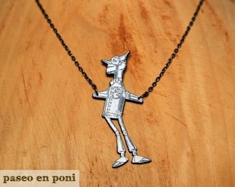 Necklace Tin Man
