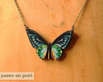 "Butterfly necklace ""Frida"""