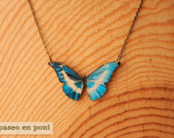"""Butterfly necklace """"Bowie"""""""