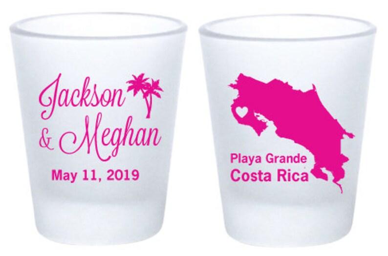 f543504f375 Destination wedding shot glasses beach wedding favors for   Etsy