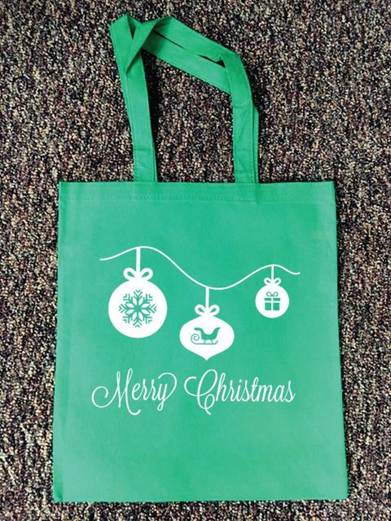 Christmas gift bags gifts for him 12 bags per lot gifts for her personalized favor bags holiday tote bags canvas gift bag