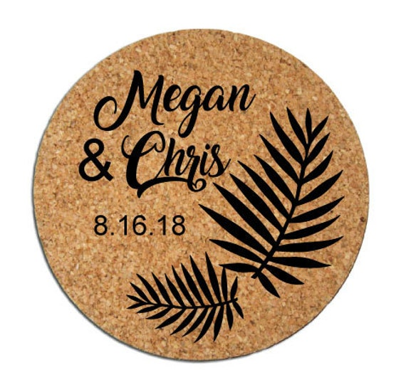 313651d41b Wedding favors wedding coasters personalized coasters round