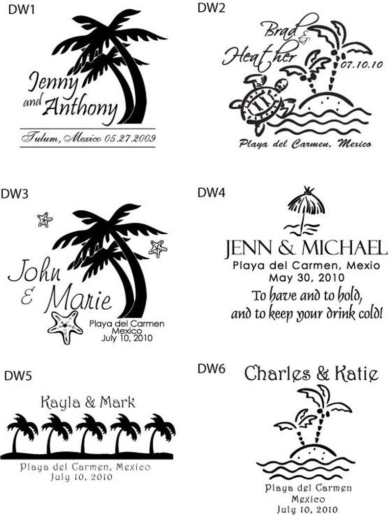 16oz double walled tumblers 60 pieces wedding cups Destination wedding favors beach wedding tumblers wedding favors