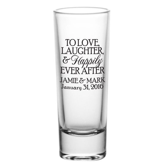 6a9c535e9f Wedding favors wedding shot glasses tall shot glasses