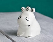 Ceramic Monster, Quirky Monster Figurine, Christmas Gift