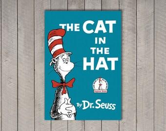 "Dr. Seuss Book Cover Set - 5x7"""