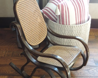 Kids Cane Chair   Etsy