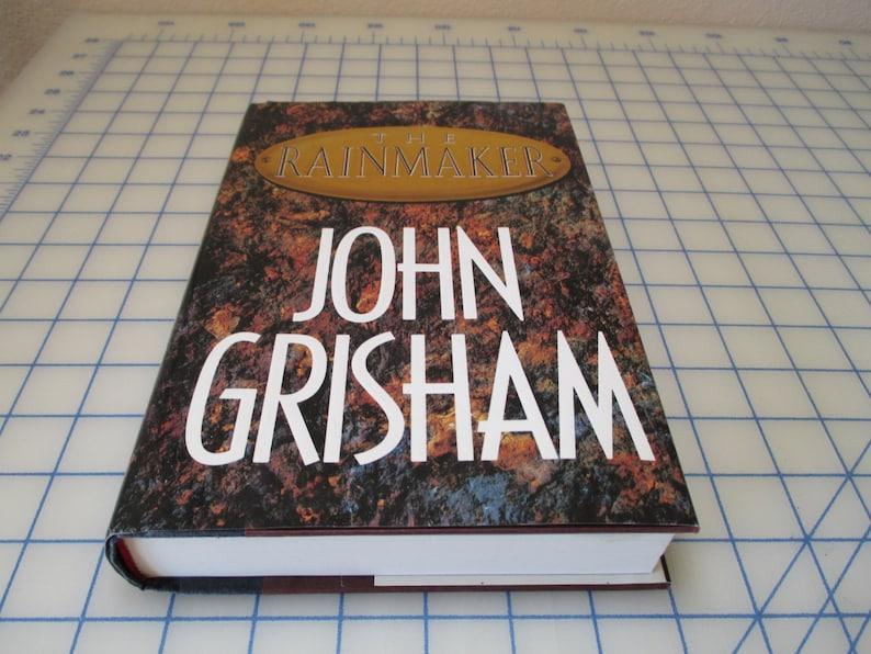 Set of 2 John Grisham Books - Hardcover - The Rainmaker AND Runaway Jury