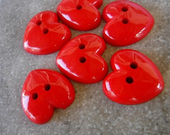 """1//4/"""" Maroon Round Sewing Buttons 30 Per Pack   Dress it Up Jesse James"""