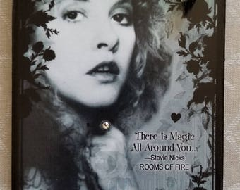 Stevie Nicks There Is Magic All Around You Decorative Wall Plaque Sign Hanging