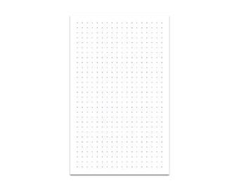 Dot Grid Travelers Notebook Insert