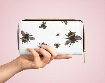 Little BEE - Art Zipper Wallet