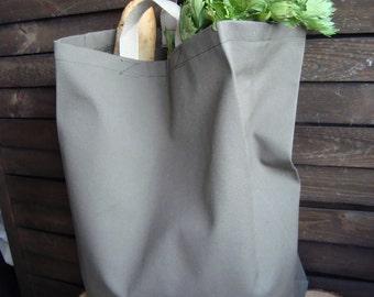 Waterproof market bag, Market canvas  bag, reusable tote bag, eco-friendly bag