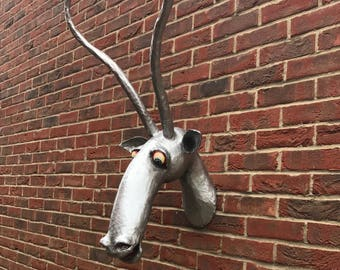 Antelope Head Wall Bust