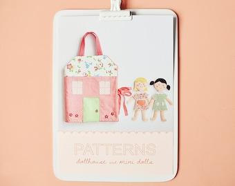 dollhouse & mini dolls pdf patterns/tutorials