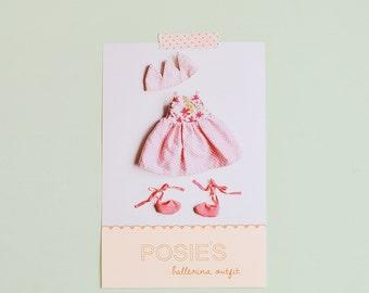 Posie's ballerina outfit pdf pattern/tutorial