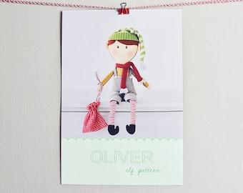 Oliver elf pdf pattern/tutorial
