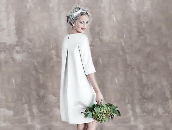 Simple Vintage Wedding Dress