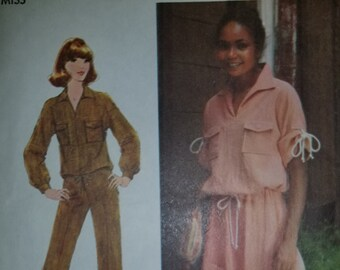 Vintage Simplicity Pattern 8521, size 10, from 1977