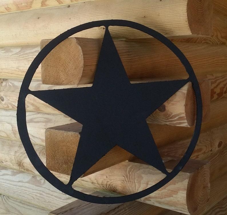Texas Star Wall Plaque Applique Wooden Interior Exterior Hanger Pediment Decor