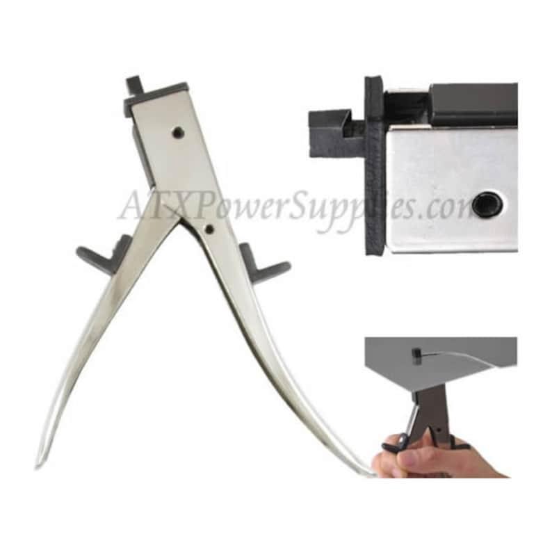 Sheet metal cutter nibbler