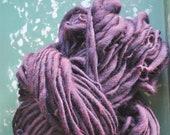 Big yarn, Super Bulky, Wine, Handspun, Soft, Chunky, warm, art yarn, wool, Knitting Supplies, Crochet Supplies, weaving, handmade