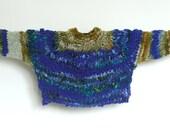 Big Winter Chunky Bulky Sweater, warm, soft, Wool, knit sweater, Handmade, USA,