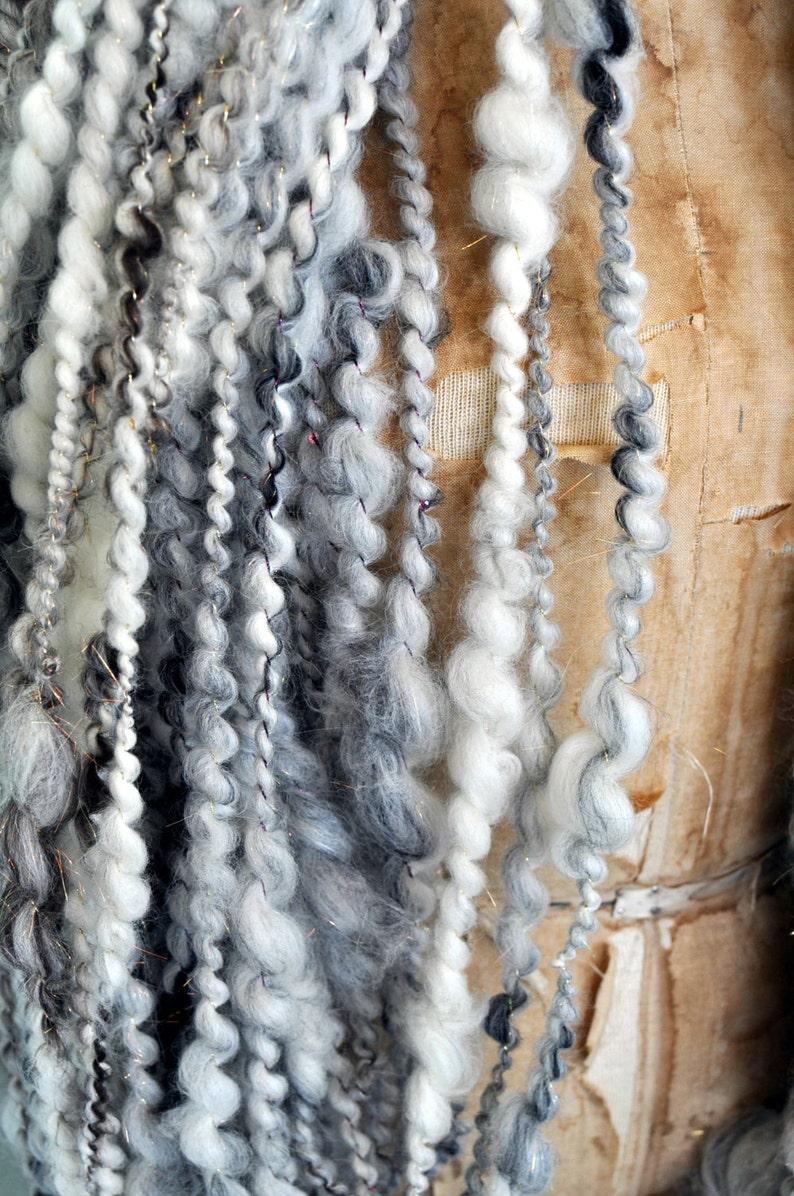 knitting supplies crochet supplies Thick and Thin Yarn thick n thin Merino Art Yarn Handspun Yarn